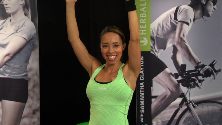Burpees! Samantha Clayton's 60 Second Challenge   Herbalife Fit Tips (+p...