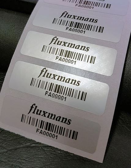 Custom Manufacturing and Printing of Silver void Asset labels in Pretoria, Gauteng, South Africa