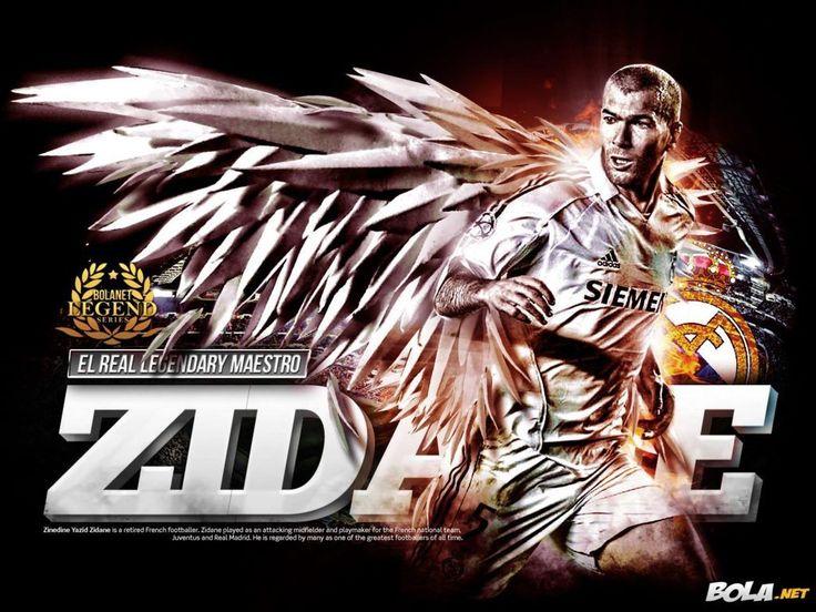 Zinedine Zidane Real Madrid Wallpaper HD