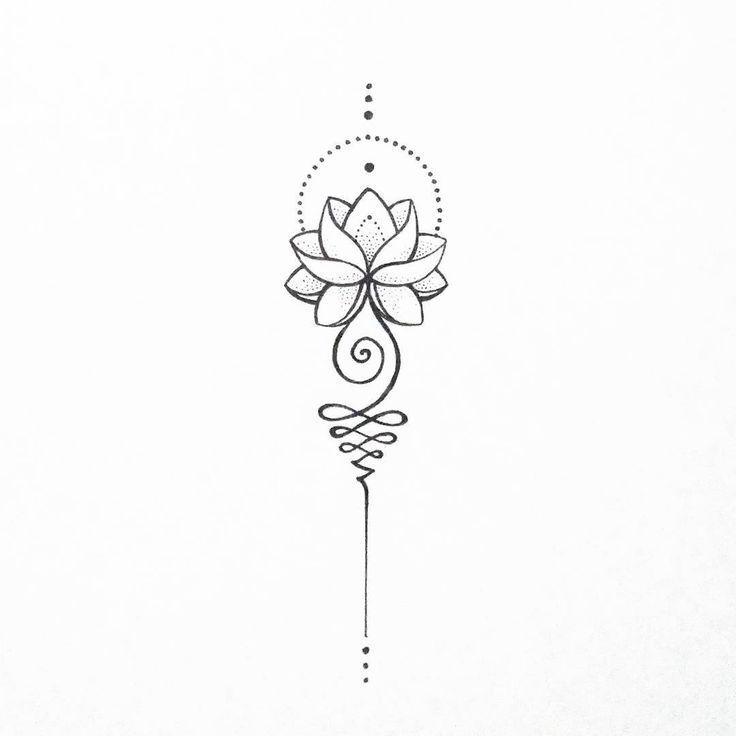 Super pretty lotus tattoo. #TattoosforWomen