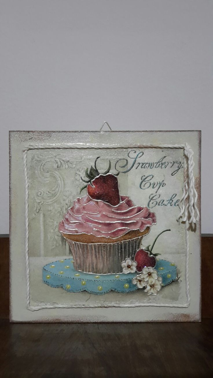 YUMMY !!!  Decoupage