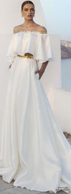 I'd wear this as a wedding gown! Love the boho vibe <3