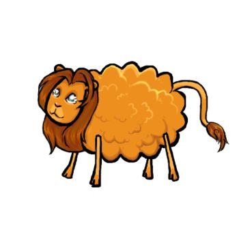 Il fait grand beau, un troupeau de moutons broute de l'herbe fraîche. C'est leur berger qui les a amenés sur cette prairie, gardés par un chien avec le devoir de veiller à ce que les moutons ne quittent pas le troupeau.
