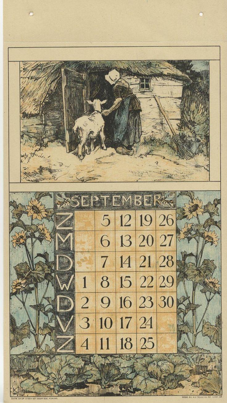 Nunspeetse boerin met geit met rond de maand zonnebloemen en koolplanten