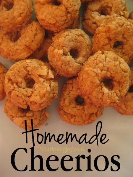 Homemade Cheerios are healthier than the commercial version and easy to make! This informative article includes two recipes and more information than you can shake a toy at.