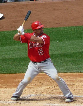 """Albert Pujols - """"Yup, movin' to Los Angeles 'cuz dey tole me it's closer to the Dominican Republic an' I can just swim durr."""""""