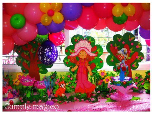 ambientacin y decoracin temtica sarah kay o frutillitas