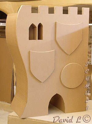 Meuble Chateau fort en carton