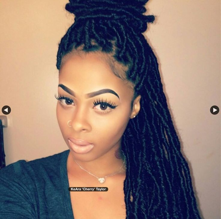 fake dreads locs hairstyles