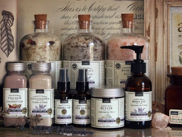 Organic Skin Care Products by Antho Beauty Purists