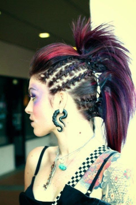 Incredible 1000 Ideas About Gothic Hairstyles On Pinterest Dope Hairstyles Short Hairstyles Gunalazisus