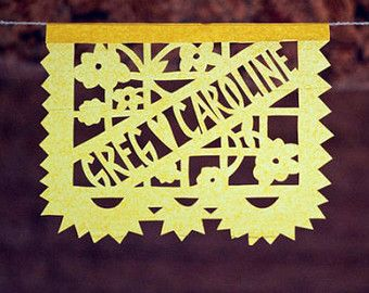 Papel Picado Banners-by AyMujer, CUSTOMIZABLE
