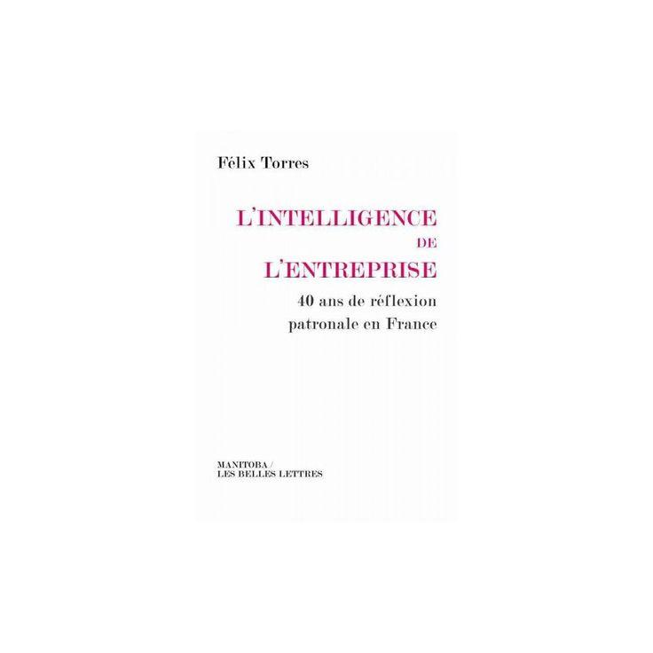 L'intelligence De L'entreprise : 40 Ans De Reflexion Patronale En France (Paperback) (Felix Torres)