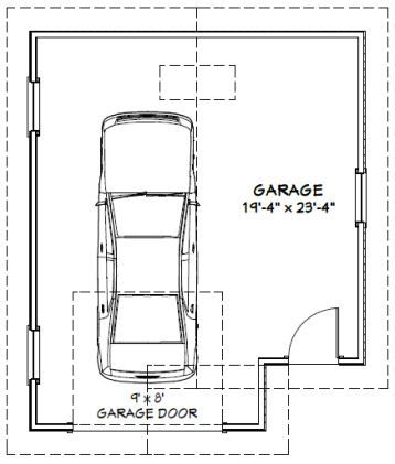48 best images about andrew garage on pinterest for Standard garage size 1 car
