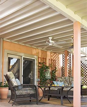 Many types of manufactured under-deck roofing systems are available online.