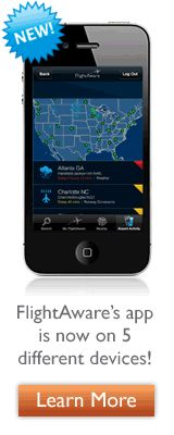FlightAware Mobile App- FlightAware tracks not only your flight's status but also any delays or cancellations, even gate changes. Set it up for a specific trip and it will send alerts so you don't have to keep checking for changes.