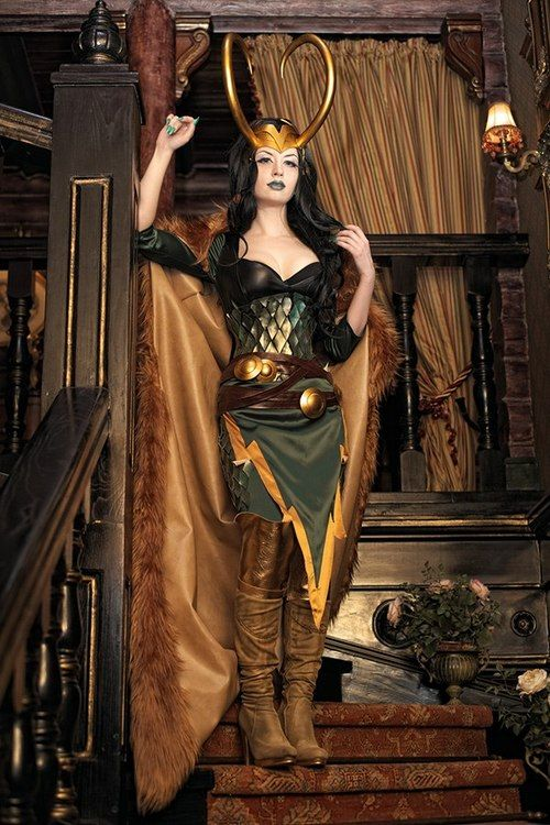 Lady Loki  cosplay                                                                                                                                                                                 More