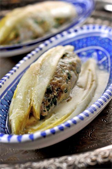 Recepten - Gevuld witloof met Marokkaans kalfsgehakt. Heel lekker