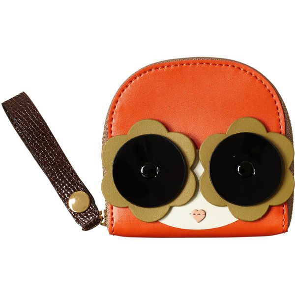 Applique Face Coin Purse ❤ liked on Polyvore featuring bags, wallets, orla kiely, coin pouch wallet, orla kiely bags, orla kiely wallet and strap bag