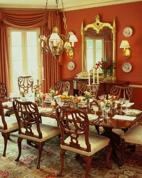 60 Best Red Dining Rooms Images On Pinterest  Red Dining Rooms Captivating Red Dining Rooms 2018