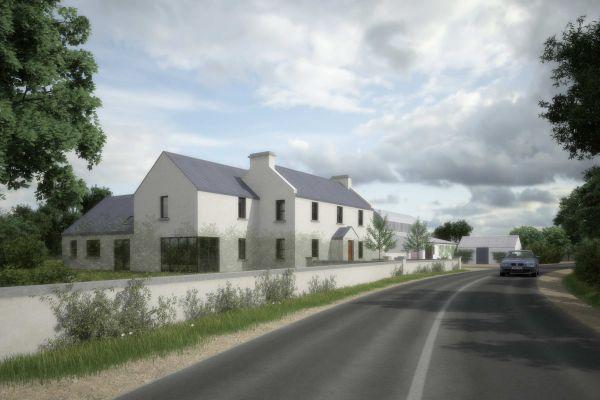 modern irish farmhouse design - Google Search