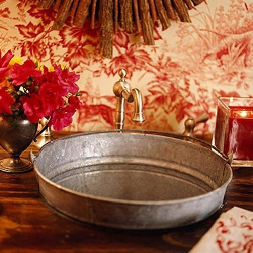 ... Bucket Sink, House Ideas, Rustic Bathroom, Outdoor Sink, Bathroom