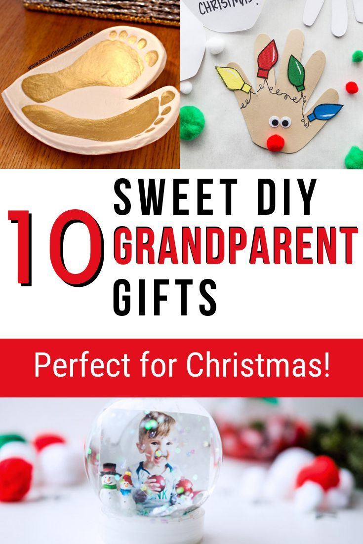 10 Perfect DIY Gifts For Grandparents These DIYs Make The Christmas Or Birthday Grandma Grandpa In Your Life
