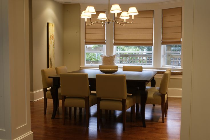 """Our """"Cove"""" custom wooden square dining table. Contact us for your custom table needs"""