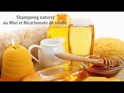 Shampoing naturel au Miel et Bicarbonate de soude - YouTube