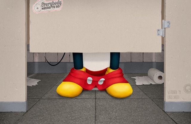 Personagens também vão ao banheiro - Assuntos Criativos