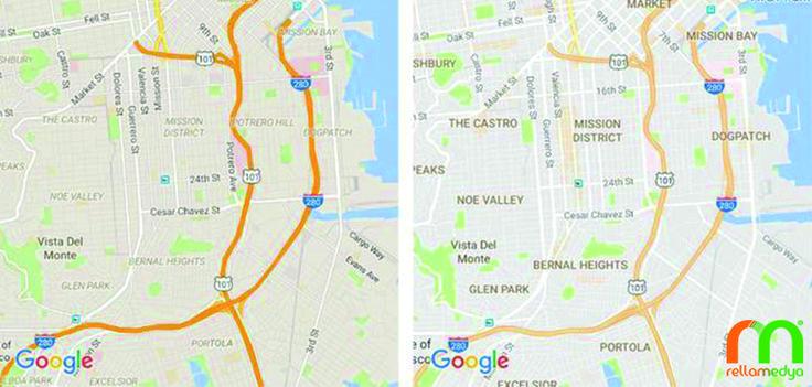 Google Maps yeni sade tasarımıyla fazlalıklarından kurtuluyor Devamı; http://www.rellablog.com/google-maps-yeni-sade-tasarimiyla-fazlaliklarindan-kurtuluyor/ #Rellamedya #Teknoloji #Haber #Google #GoogleMaps