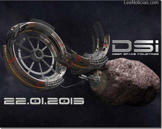 ¡Ya nos gastamos la tierra! Comienza la explotación minera de asteroides en el espacio - http://www.leanoticias.com/2013/01/22/ya-nos-gastamos-la-tierra-comienza-la-explotacion-minera-de-asteroides-en-el-espacio/