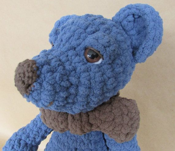 Check out this item in my Etsy shop https://www.etsy.com/listing/276646636/jack-teddy-bear-crochet-handmade-baby