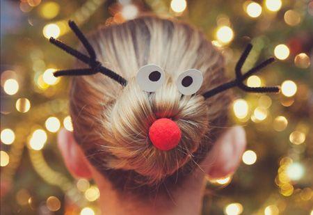 christmas_hair_knot