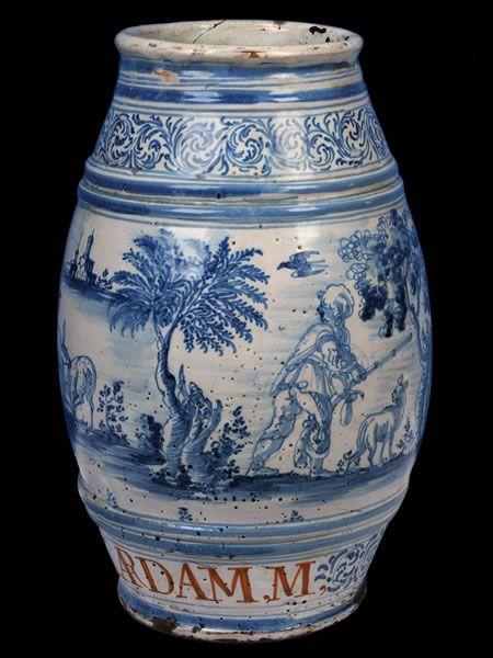 Azulejos Para Baños En Talavera Dela Reina:Talavera de la Reina ca1690-1710 Spain