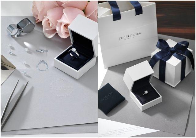 Bague de fiancailles sur mesure - bague For you for ever De Beers - La Fiancee du Panda Blog Mariage & Lifestyle