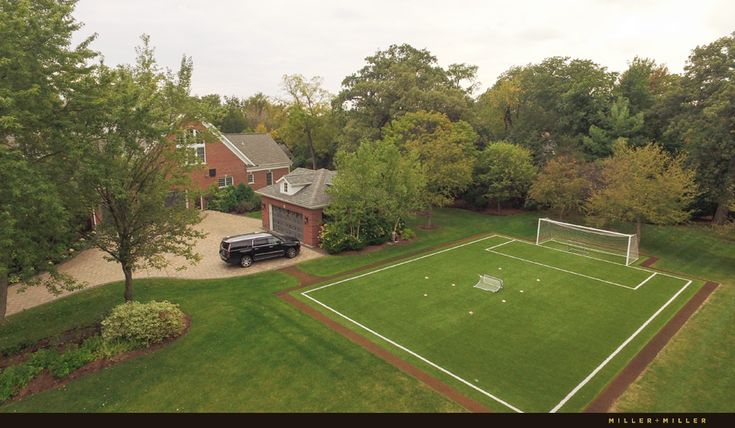 Naperville house for sale second private lot soccer field