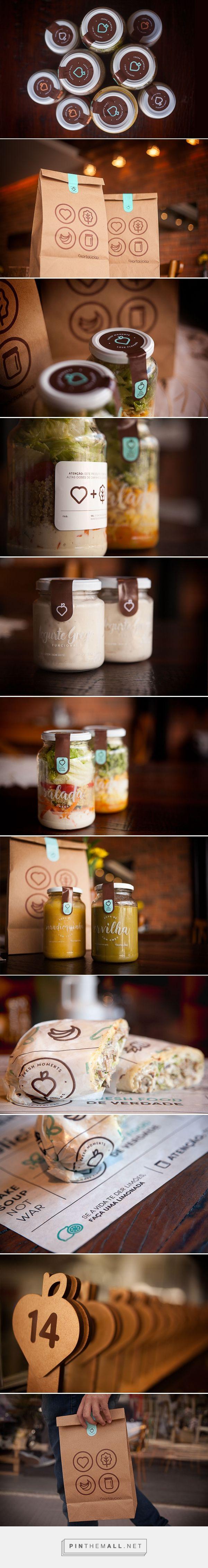 Hortalícia / food brand by Samuel Furtado, Vibri Design & Branding, Rodrigo…