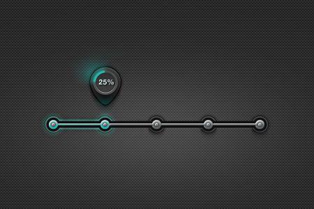 10 Free Progress / Loading Bar PSD Designs to Download