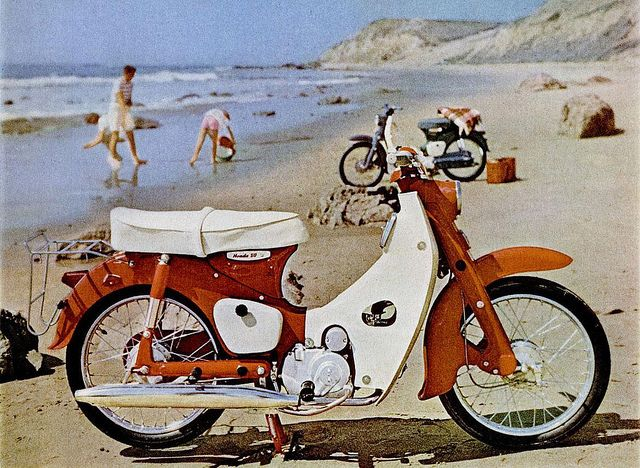 My dream moped...a Honda 50cc from 1962!