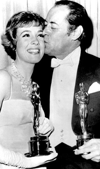 "Rex Harrison won the Oscar for the film version of ""My Fair Lady,"" 1964, and Julie Andrews won that same year for ""Mary Poppins"" (she famously lost the role of Eliza to Audry Hepburn)"