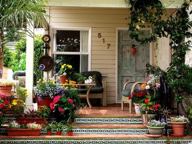 Pretty porches