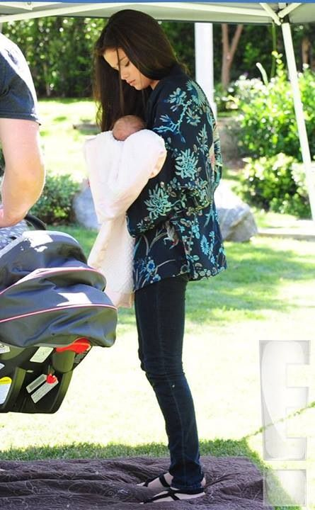 Selena Gomez and her baby sister Gracie