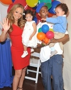 Mariah Carey and Nick Cannon celebrate family day with twins...