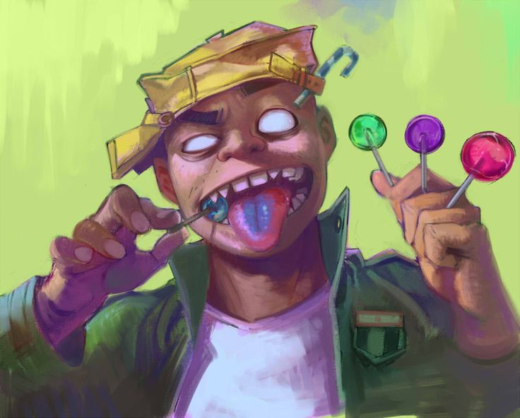 Russel by ly250089.deviantart.com on @deviantART #Gorillaz