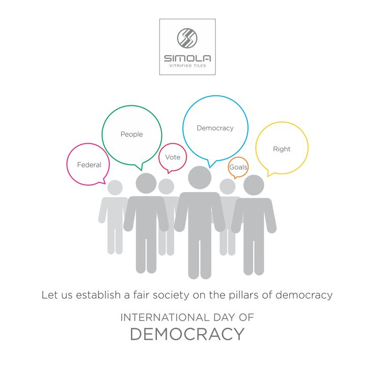 Let us establish a fair society on the pillars of democracy. International Day of Democracy! #SimolaVitrified #Ceramic #FloorTiles #beautifulhomes #luxurydesign #International #Day #Democracy