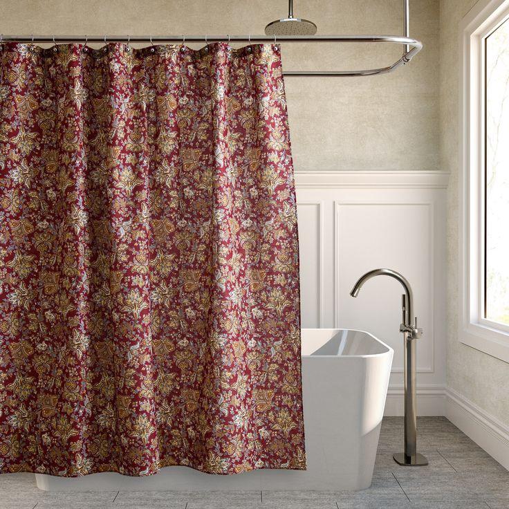 Die Besten  Elegant Shower Curtains Ideen Auf Pinterest - Purple and gold shower curtain