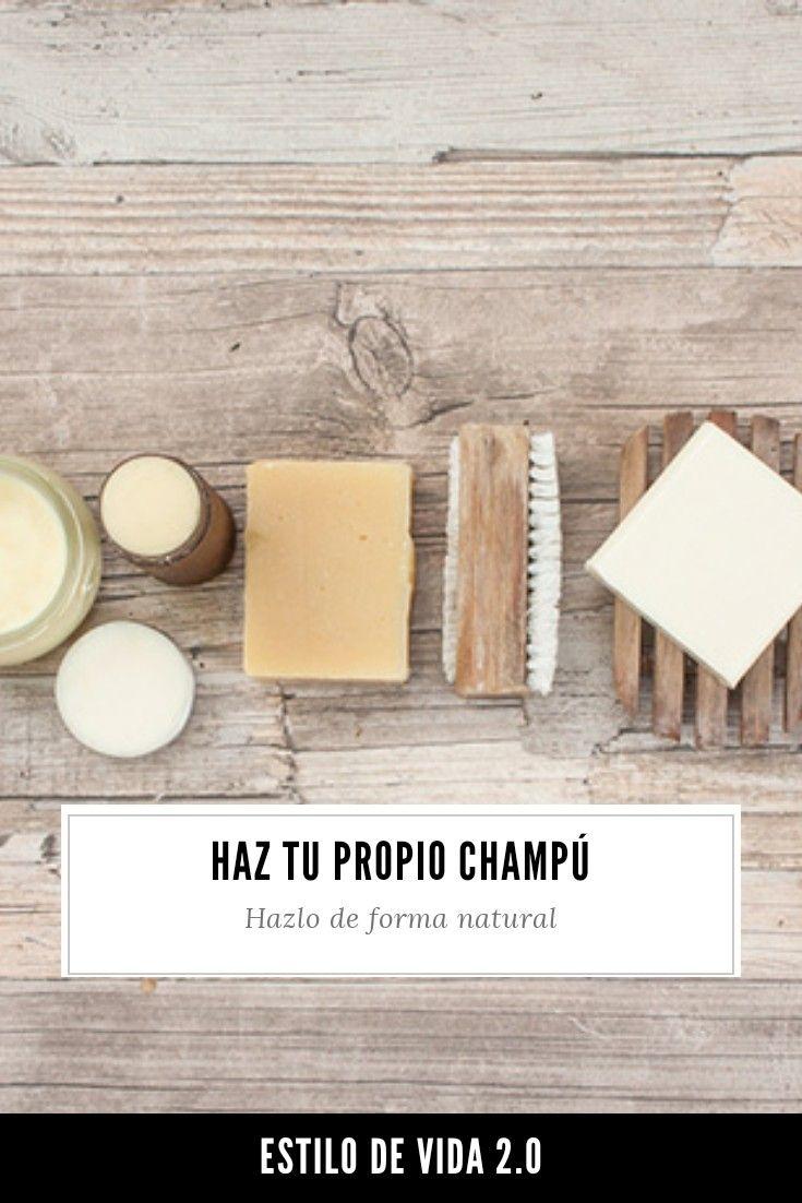 Home Treatment, Natural Shampoo, Natural Beauty, Essential Oils, Spa, Nature, How To Make, Recipe, Hair