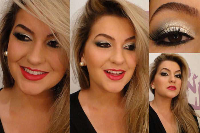 Fotos por Alice Salazar: Makeup Junkie, Makeup Inspiração, Unhas Faces Hair, Sweet Hair, Cute Eye Makeup