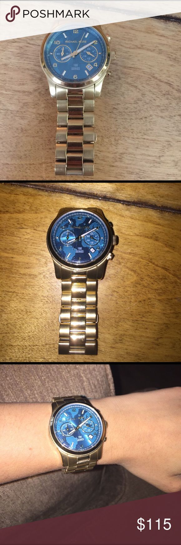 Michael Kors stop hunger watch In great condition! Was given an Apple Watch so am trying to sell my Michael kors' watches. Price is negotiable. The battery is dead but only costs $5 to replace at any jewelry store or department store KORS Michael Kors Accessories Watches